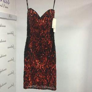 Scala 48560 Red/Black size 0